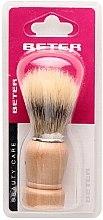 Profumi e cosmetici Pennello da barba con manico in legno - Beter Beauty Care