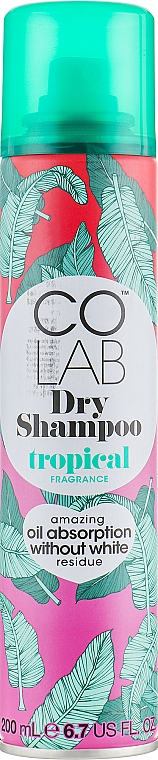 "Shampoo secco capelli ""Profumo tropicale"" - Colab Tropical Dry Shampoo — foto N1"