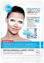Profumi e cosmetici Maschera contorno occhi - Dermo Pharma 4D Moisturizing & Wrinkle Reduct Hydrogel Eye Mask