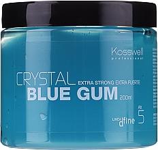 Profumi e cosmetici Gel strutturante a fissazione forte - Kosswell Professional Dfine Crystal Blue Gum