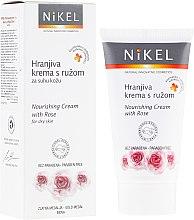Profumi e cosmetici Crema nutriente con rosa per viso - Nikel Nourishing Cream with Rose