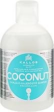 Profumi e cosmetici Shampoo nutriente e rassodante con olio di cocco - Kallos Cosmetics Coconut Shampoo