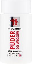 Profumi e cosmetici Polvere volumizzante per capelli - Hegron Hair Powder Volume&Lift
