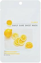 Profumi e cosmetici Maschera viso rivitalizzante con vitamina B5 - Eunyu Daily Care Sheet Mask Vitamin