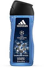 Profumi e cosmetici Adidas UEFA Champions League Champions Edition - Gel doccia