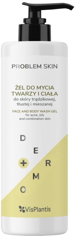 Gel viso e corpo - Vis Plantis Problem Skin Face And Body Wash Gel