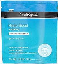Profumi e cosmetici Maschera viso in idrogel - Neutrogena Hydro Boost Hydrating Hydrogel Mask