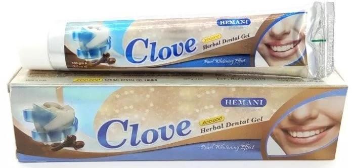 """Gel-dentifricio """"Garofano"""" - Hemani Clove Herbal Dental Gel"""