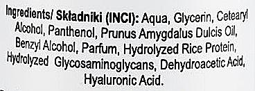Condizionante per capelli con olio di mandorle, senza risciacquo - Nacomi No-Rinse With Sweet Almond & Hyaluronic Acid Conditioner — foto N3