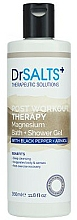 Profumi e cosmetici Gel doccia - Dr Salts + Post Workout Therapy Magnesium Shower Gel