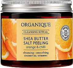 "Profumi e cosmetici Peeling al sale ""Arancia e peperoncino"" - Organique Shea Butter Salt Peeling Orange & Chilli"