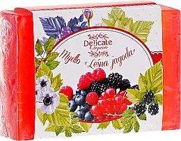 """Profumi e cosmetici Sapone """"Bacca selvatica"""" - Delicate Organic Aroma Soap"""