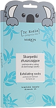 Profumi e cosmetici Maschera-calze esfoliante per piedi - Marion Dr Koala Exfoliating Socks