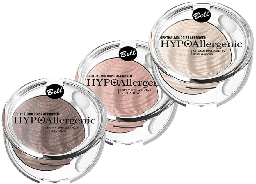 Ombretto ipoallergenico - Bell Hypoallergenic Shimmering Sand Bell Eyeshadow — foto N1