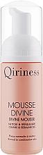 Profumi e cosmetici Schiuma detergente viso - Qiriness Divine Mousse