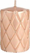Profumi e cosmetici Candela decorativa, 10 cm, oro rosa - Artman Florence Candle