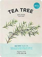 Profumi e cosmetici Maschera in tessuto con tea tree - It's Skin The Fresh Mask Sheet Tea Tree