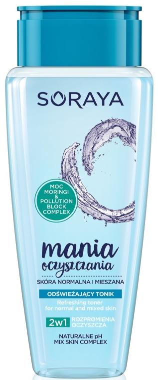 Tonico rinfrescante per pelli normali e miste - Soraya Cleansing Mania Refreshing Tonic — foto N1