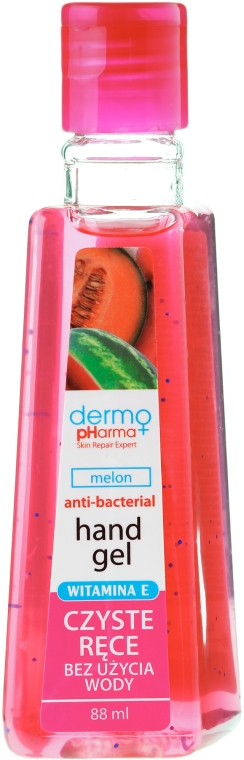 "Gel antibatterico per mani ""Melone"" - Dermo Pharma Antibacterial Hand Gel"
