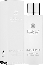 Profumi e cosmetici Tonico viso - Herla Black Rose Nutritive Face Smoothing Tonico