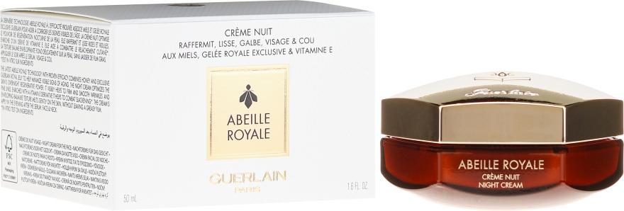 Crema da notte - Guerlain Abeille Royale Night Cream Firms Smoothes Redefines — foto N1