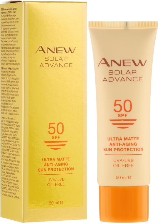 Crema anti-età viso - Avon Anew Solar Advance SPF50