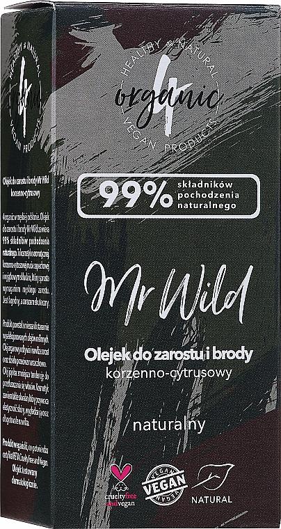 """Olio per capelli e barba """"Agrumi piccanti"""" - 4Organic Mr Wild Hair And Beard Oil — foto N2"""