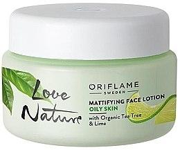 Profumi e cosmetici Lozione viso opacizzante - Oriflame Love Nature Mattifyng Face Lotion