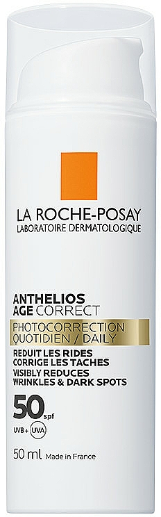 Crema solare per il viso SPF 50+ - La Roche-Posay Anthelios Age Correct SPF50+