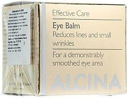 Profumi e cosmetici Balsamo anti-età contorno occhi - Alcina E Eye Balm