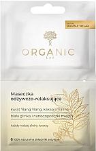 Profumi e cosmetici Maschera viso nutriente e rilassante - Organic Lab Nourishing and Relaxing Face Mask