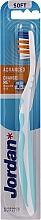 Profumi e cosmetici Spazzolino da denti morbido Advanced, senza cappuccio, menta - Jordan Advanced Soft Toothbrush