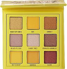 Profumi e cosmetici Palette ombretti, 9 colori - Makeup Obsession Shadow Palette