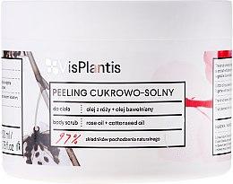 Profumi e cosmetici Peeling al sale con zucchero, olio di rose e olio di semi di cotone - Vis Plantis Herbal Vital Care Body Scrub
