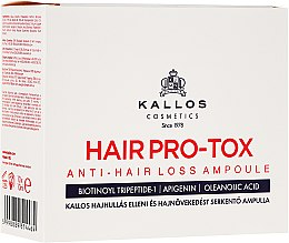 Profumi e cosmetici Fiale contro la perdita e la crescita dei capelli - Kallos Cosmetics