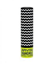 Profumi e cosmetici Balsamo labbra SPF 15, con cera d'api e camomilla - Apivita Lip Care with Chamomile SPF 15