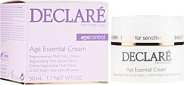 Profumi e cosmetici Crema anti-età con estratto di peonia - Declare Age Control Age Essential Cream