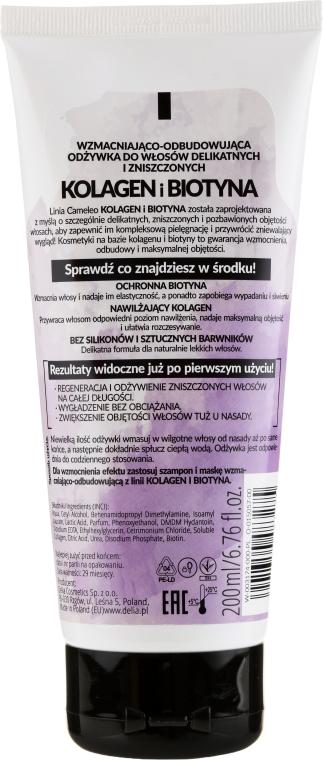 Condizionante capelli - Delia Cameleo Collagen And Biotin Conditioner