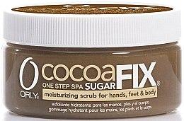"""Profumi e cosmetici Scrub idratante allo zucchero per mani, piedi e corpo """"Cacao"""" - Orly Sugar Fix Cocoa"""