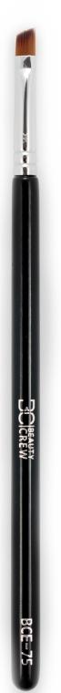 Pennello per sopracciglia ed eyeliner, BCE-75 - Beauty Crew