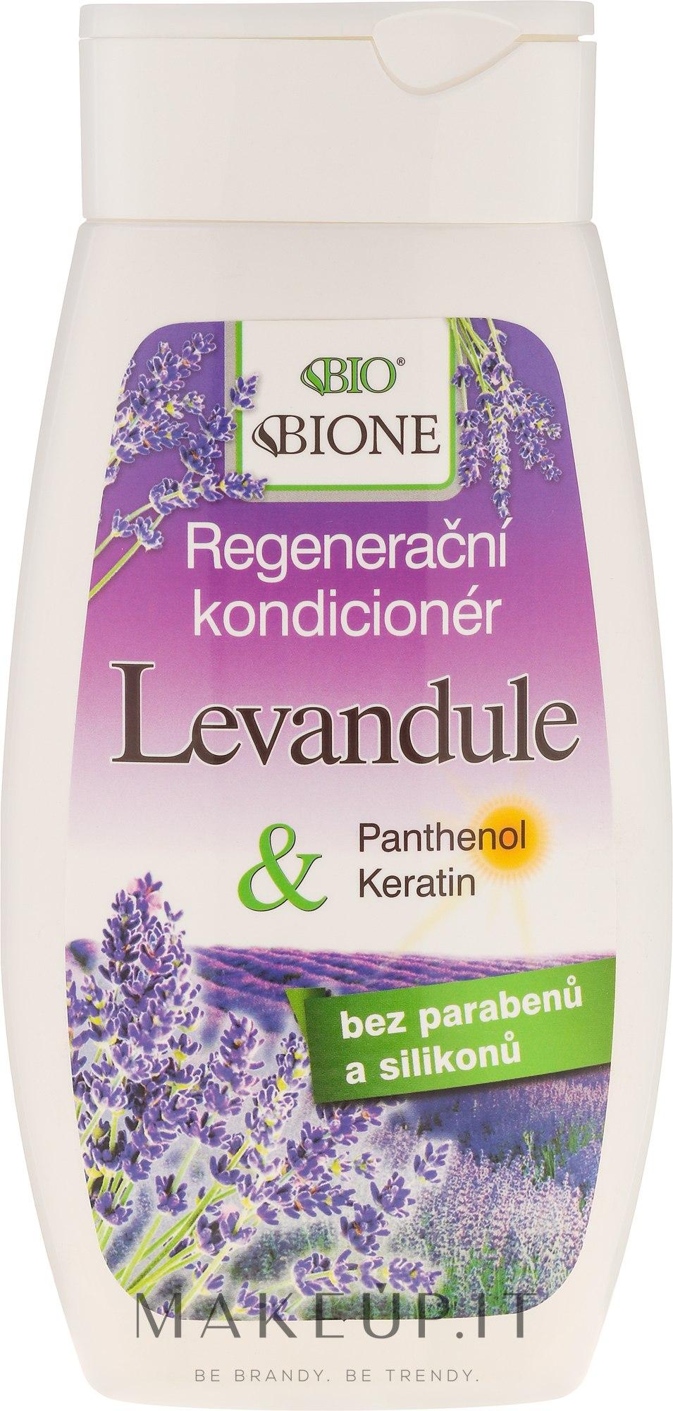 Condizionante capelli rigenerante - Bione Cosmetics Lavender Regenerative Hair Conditioner — foto 260 ml