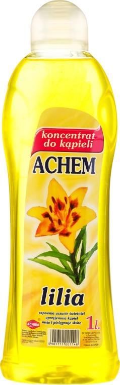 """Concentrato liquido da bagno """"Giglio"""" - Achem Concentrated Bubble Bath Lily"""