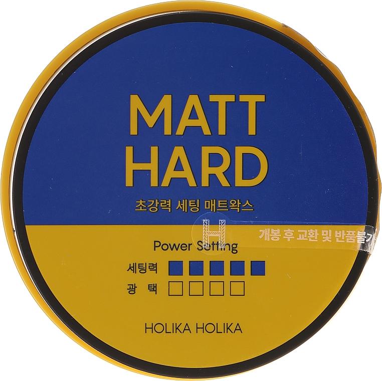 Cera opaca con biotina per capelli - Holika Holika Biotin Style Care Ultra Holding Matt Wax