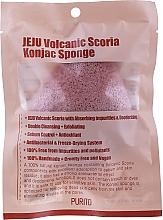Profumi e cosmetici Spugna con cenere vulcanica - Purito Jeju Volcanic Scoria Konjac Sponge