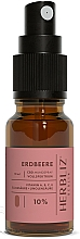 """Profumi e cosmetici Olio-spray collutorio """"Fragola"""" 10% - Herbliz CBD Oil Mouth Spray 10%"""