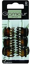 Profumi e cosmetici Forcine per capelli, 0226, marrone - Glamour