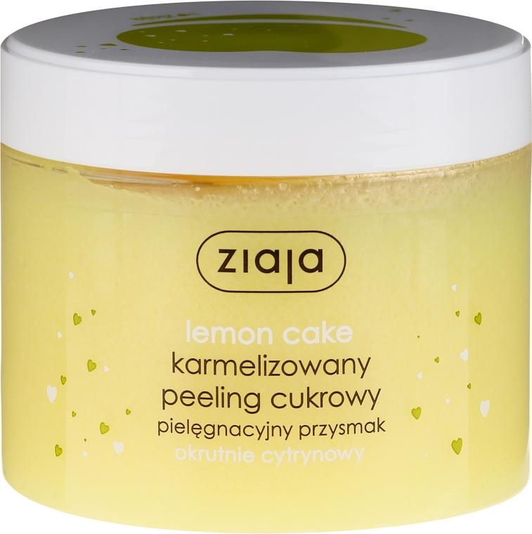 "Peeling allo zucchero ""Cupcake al limone"" - Ziaja Sugar Body Peeling"