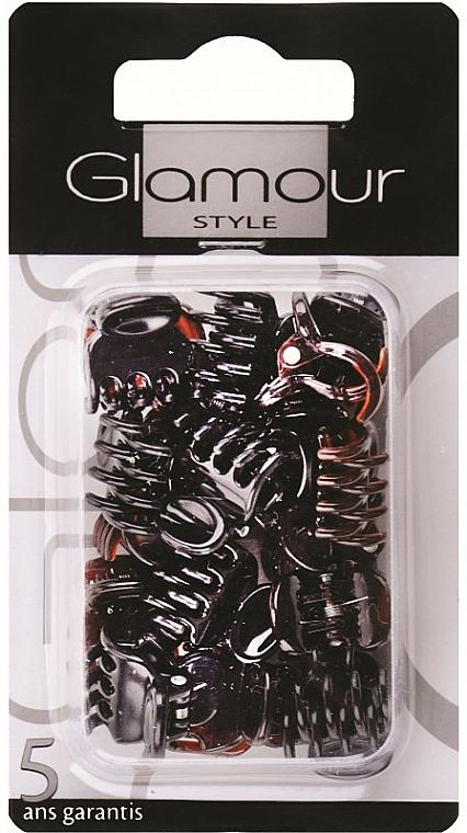 Pinza capelli, 0223, marrone - Glamour