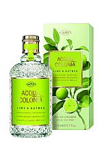 Profumi e cosmetici Maurer & Wirtz 4711 Aqua Colognia Lime & Nutmeg - Colonia
