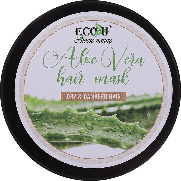 Maschera per capelli secchi e danneggiati - Eco U Aloe Mask
